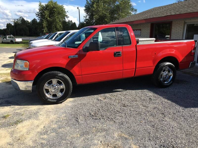 2004 Ford F-150 for sale at M&M Auto Sales 2 in Hartsville SC