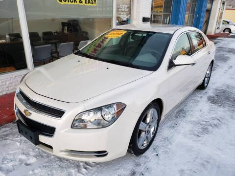 2012 Chevrolet Malibu for sale at AutoMotion Sales in Franklin OH