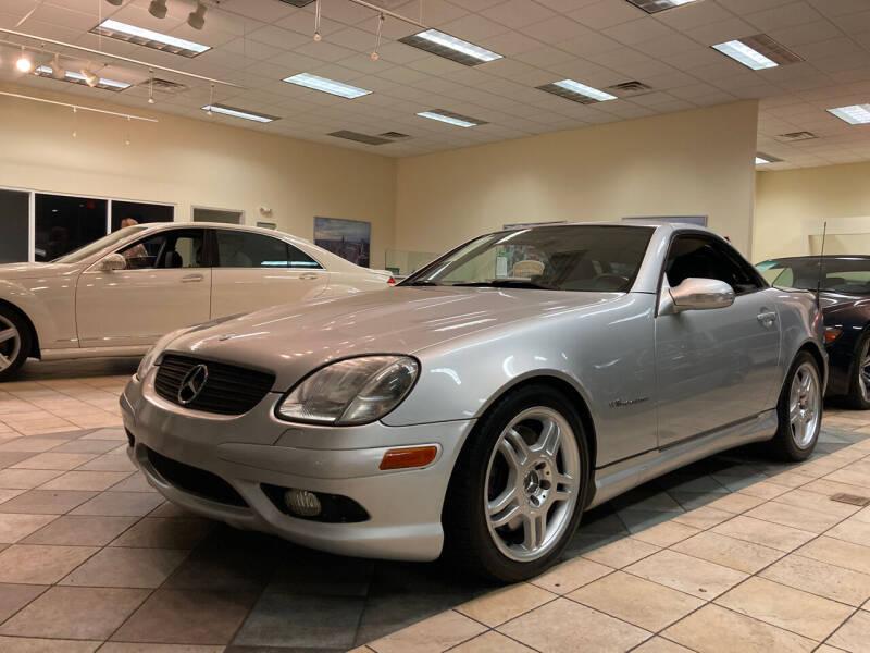 2004 Mercedes-Benz SLK for sale at Thumbs Up Motors in Warner Robins GA