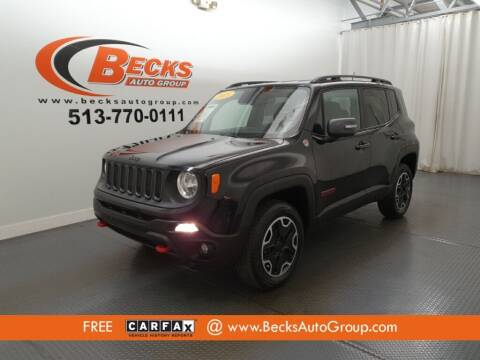 2015 Jeep Renegade for sale at Becks Auto Group in Mason OH