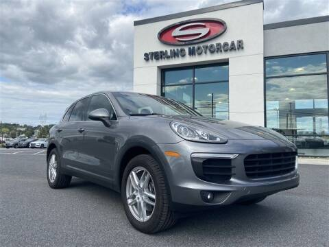 2016 Porsche Cayenne for sale at Sterling Motorcar in Ephrata PA