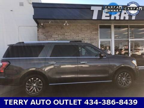 2019 Ford Expedition MAX for sale at Terry Auto Outlet in Lynchburg VA