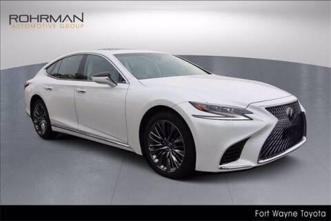 2018 Lexus LS 500 for sale at BOB ROHRMAN FORT WAYNE TOYOTA in Fort Wayne IN