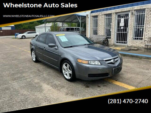 2006 Acura TL for sale at Wheelstone Auto Sales in La Porte TX