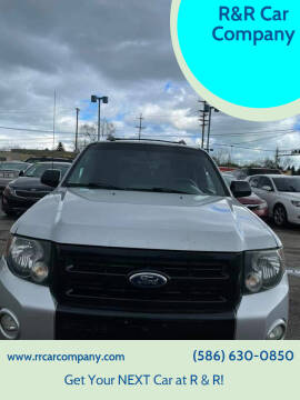 2012 Ford Escape for sale at R&R Car Company in Mount Clemens MI