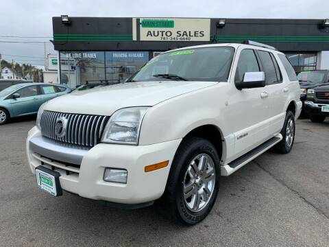 2009 Mercury Mountaineer for sale at Wakefield Auto Sales of Main Street Inc. in Wakefield MA