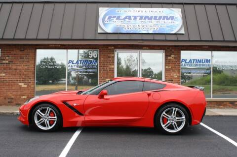2016 Chevrolet Corvette for sale at Platinum Auto World in Fredericksburg VA