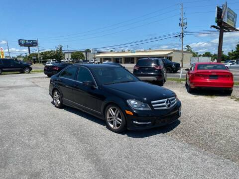 2013 Mercedes-Benz C-Class for sale at Lucky Motors in Panama City FL