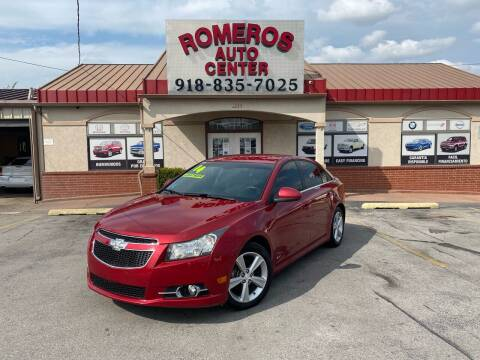 2014 Chevrolet Cruze for sale at Romeros Auto Center in Tulsa OK