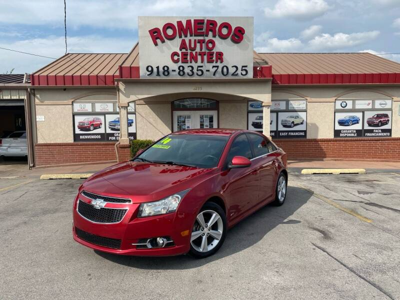 2014 Chevrolet Cruze for sale at Romeros Auto Center in Tulsa OK