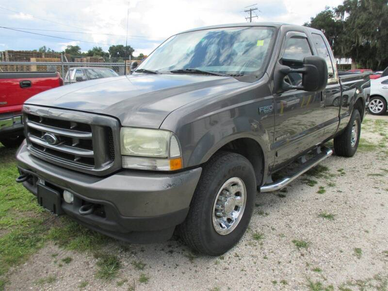 2003 Ford F-250 Super Duty for sale at New Gen Motors in Bartow FL