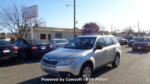 2009 Subaru Forester for sale at RVA MOTORS in Richmond VA