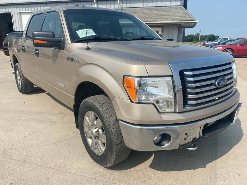 2012 Ford F-150 for sale at BERG AUTO MALL & TRUCKING INC in Beresford SD