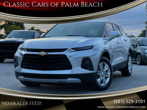 2019 Chevrolet Blazer for sale at Classic Cars of Palm Beach in Jupiter FL
