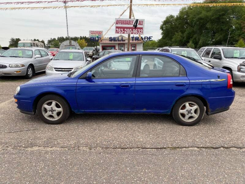 2000 Kia Spectra for sale at Affordable 4 All Auto Sales in Elk River MN