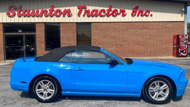 2014 Ford Mustang for sale at STAUNTON TRACTOR INC in Staunton VA