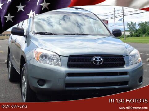 2007 Toyota RAV4 for sale at RT 130 Motors in Burlington NJ