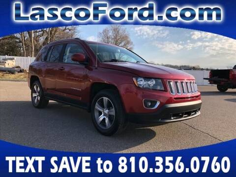 2016 Jeep Compass for sale at Lasco of Grand Blanc in Grand Blanc MI