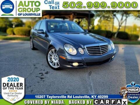 2008 Mercedes-Benz E-Class for sale at Auto Group of Louisville in Louisville KY