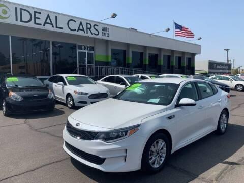 2016 Kia Optima for sale at Ideal Cars in Mesa AZ