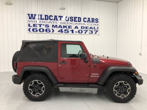 2011 Jeep Wrangler for sale at Wildcat Used Cars in Somerset KY
