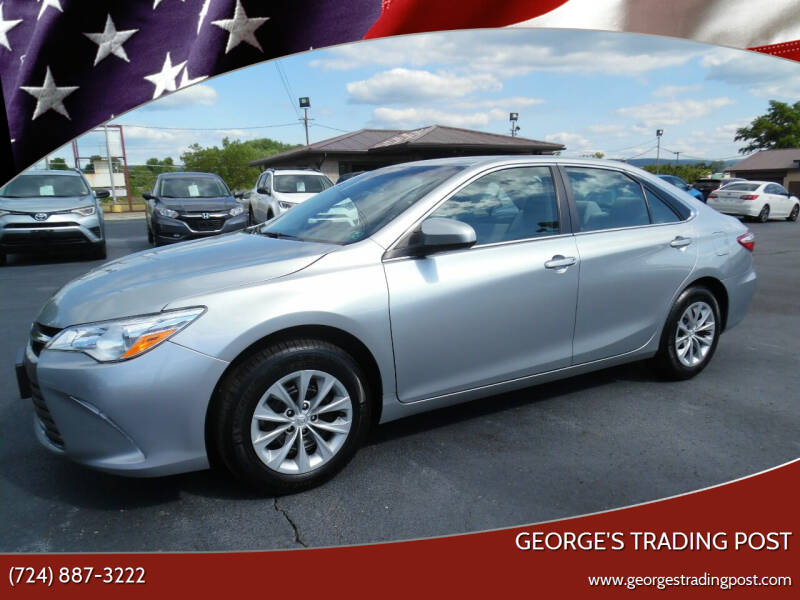 2017 Toyota Camry for sale at GEORGE'S TRADING POST in Scottdale PA