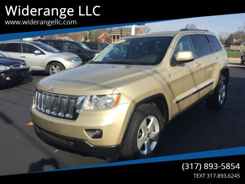 2011 Jeep Grand Cherokee for sale at Widerange LLC in Greenwood IN