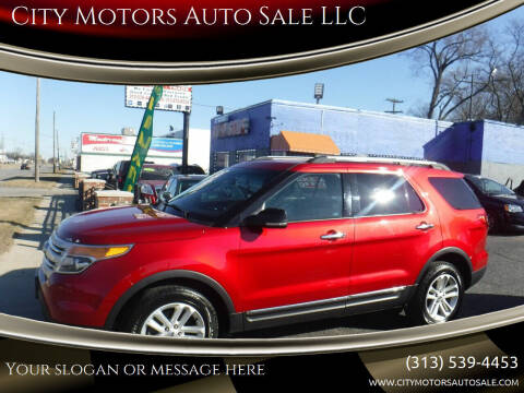 2012 Ford Explorer for sale at City Motors Auto Sale LLC in Redford MI
