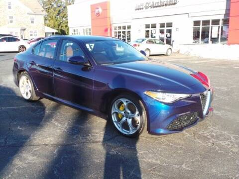 2019 Alfa Romeo Giulia for sale at Jeff D'Ambrosio Auto Group in Downingtown PA