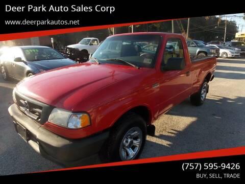 2007 Mazda B-Series Truck for sale at Deer Park Auto Sales Corp in Newport News VA