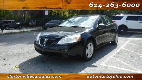 2006 Pontiac G6 for sale at Clintonville Car Sales - AutoMart of Ohio in Columbus OH