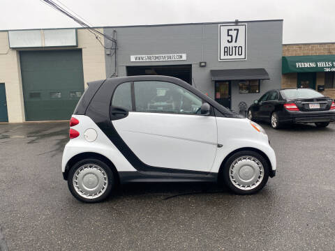2013 Smart fortwo for sale at 57 AUTO in Feeding Hills MA