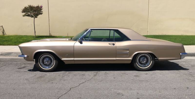 1963 Buick Riviera for sale at HIGH-LINE MOTOR SPORTS in Brea CA