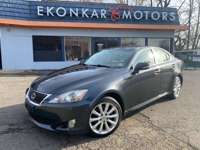 2009 Lexus IS 250 for sale at Ekonkar Motors in Scotch Plains NJ