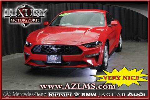 2018 Ford Mustang for sale at Luxury Motorsports in Phoenix AZ
