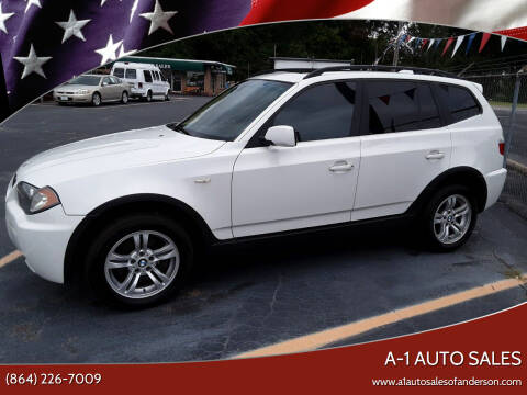 2006 BMW X3 for sale at A-1 Auto Sales in Anderson SC