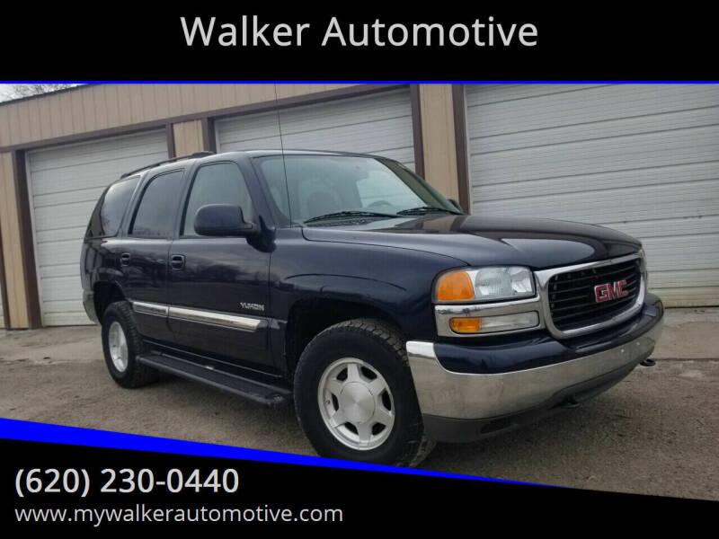 2004 GMC Yukon for sale at Walker Automotive in Frontenac KS