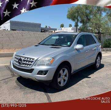 2010 Mercedes-Benz M-Class for sale at Senor Coche Auto Sales in Las Cruces NM