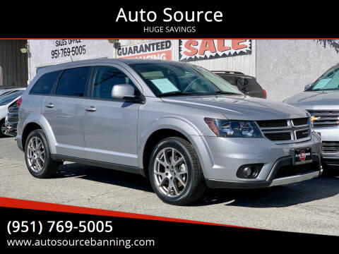 2016 Dodge Journey for sale at Auto Source in Banning CA