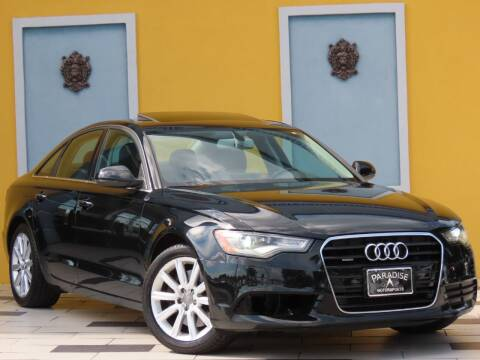 2015 Audi A6 for sale at Paradise Motor Sports LLC in Lexington KY
