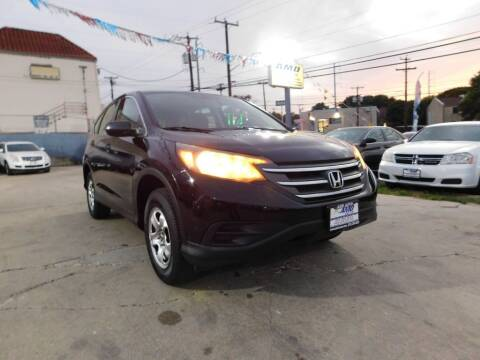 2013 Honda CR-V for sale at AMD AUTO in San Antonio TX