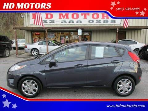 2012 Ford Fiesta for sale at HD MOTORS in Kingsport TN