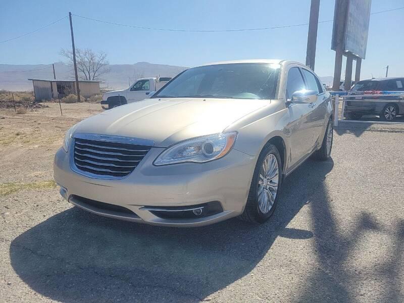 2013 Chrysler 200 for sale at Bickham Used Cars in Alamogordo NM