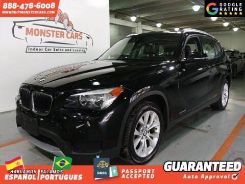 2014 BMW X1 for sale at Monster Cars in Pompano Beach FL