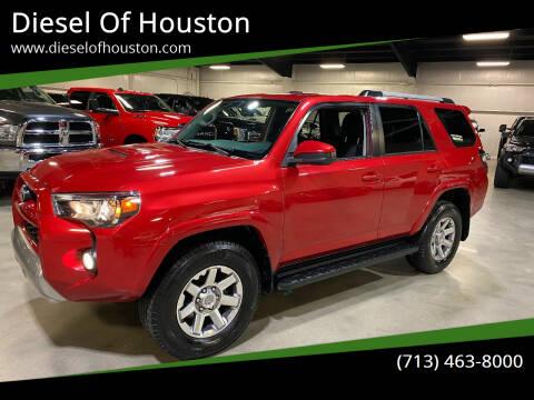 2015 Toyota 4Runner for sale at Diesel Of Houston in Houston TX