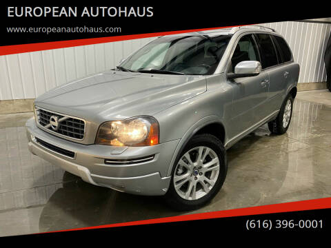 2013 Volvo XC90 for sale at EUROPEAN AUTOHAUS in Holland MI