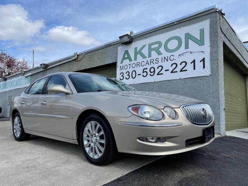 2008 Buick LaCrosse for sale at Akron Motorcars Inc. in Akron OH