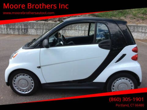 2013 Smart fortwo for sale at Moore Brothers Inc in Portland CT