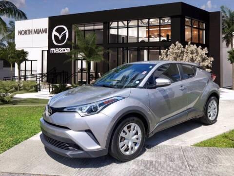 2019 Toyota C-HR for sale at Mazda of North Miami in Miami FL