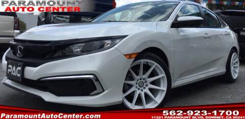 2019 Honda Civic for sale at PARAMOUNT AUTO CENTER in Downey CA